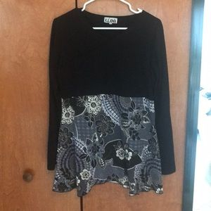 Women's tunic top